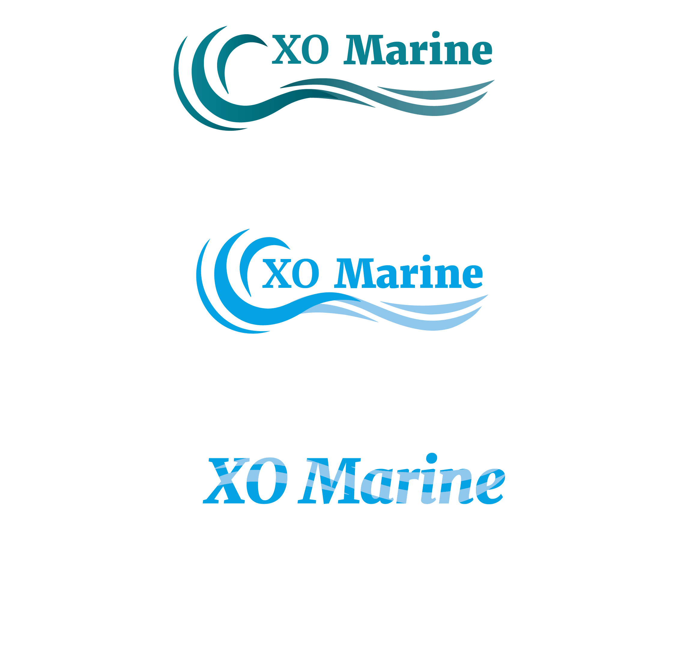 XO Marine 03 logo web design in riga