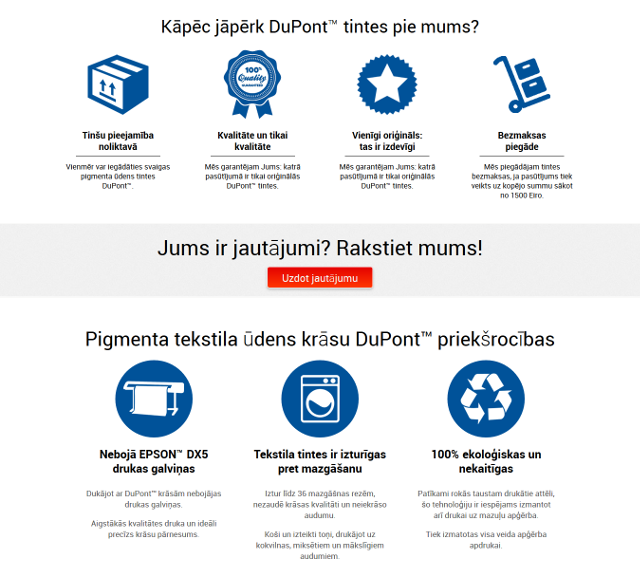 web design in riga printinks custom icons