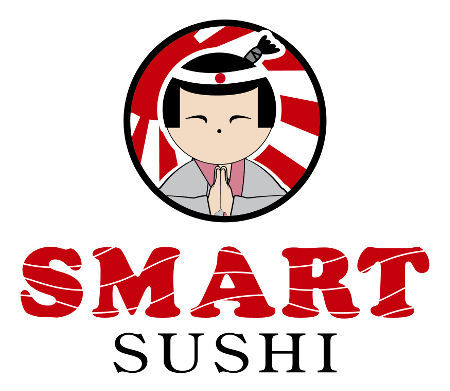smart sushi logo creation in Riga