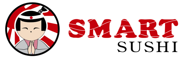smart sushi logo creation in Riga long
